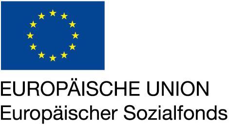 © Logo: EUROPÄISCHE UNION - Europäischer Sozialfonds