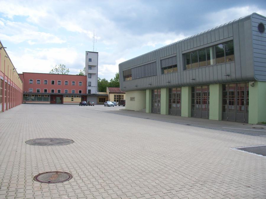 Hauptfeuerwache Rosenheim mit ILS