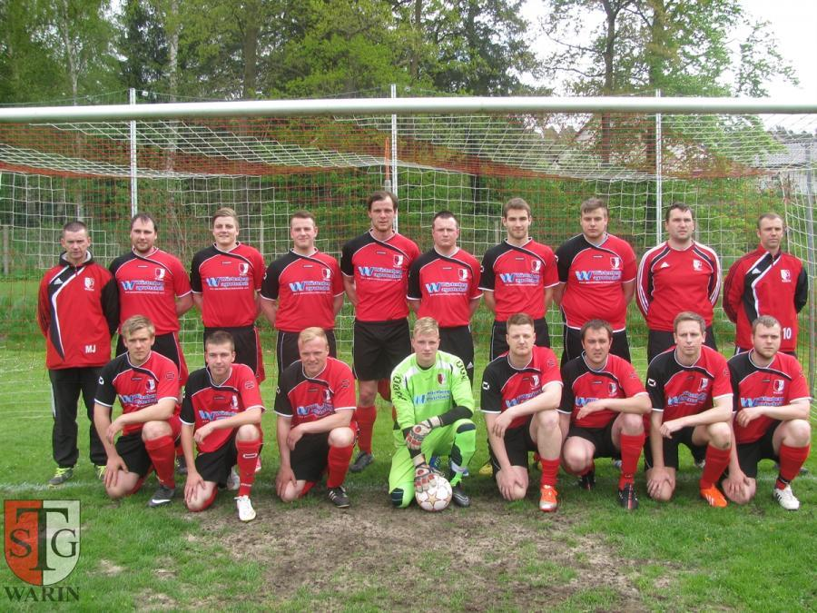 Mannschaftsfoto der 2.Männer Saison 2014/2015