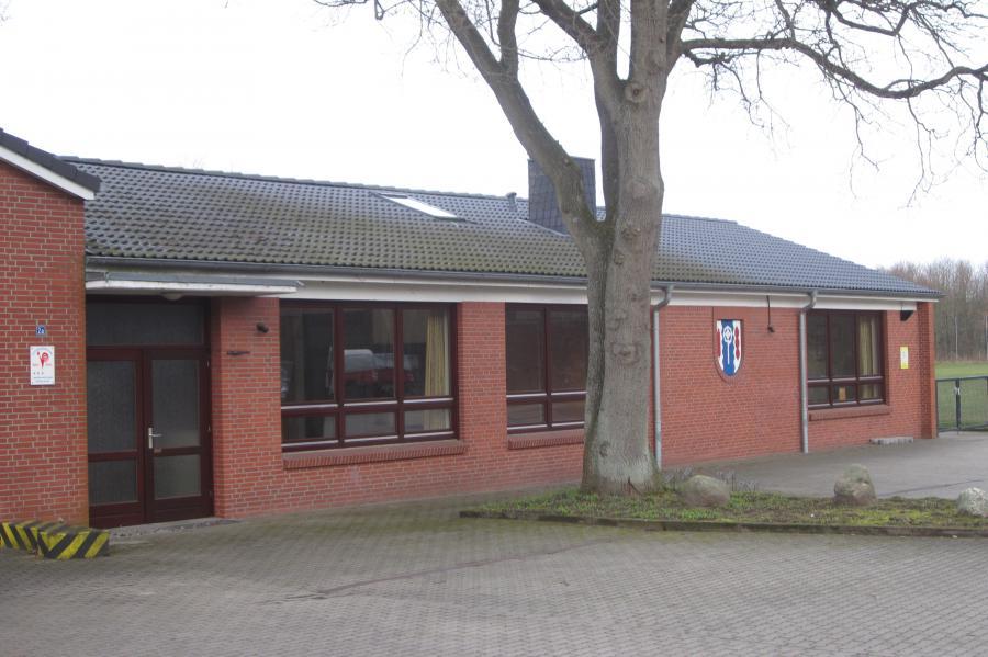 Blick auf das Dorfgemeinschaftshaus; Quelle: Gemeinde Pohnsdorf