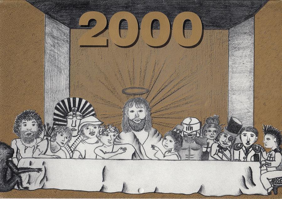 Titel Schulkalender 2000