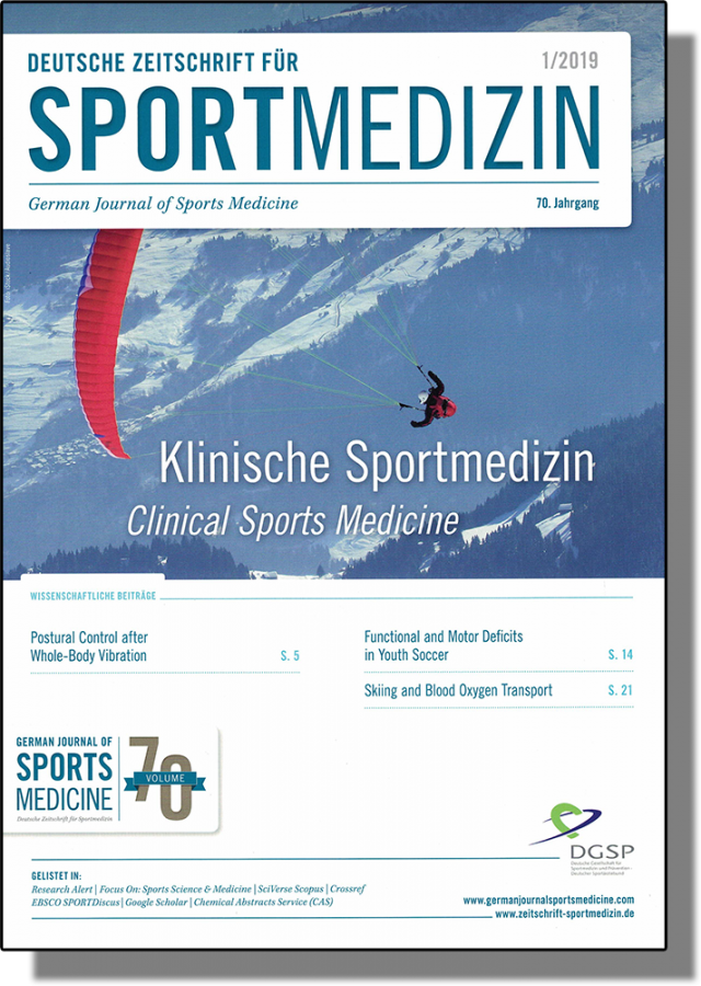 Deutsche Zeitschrift für Sportmedizin, Symbolbild