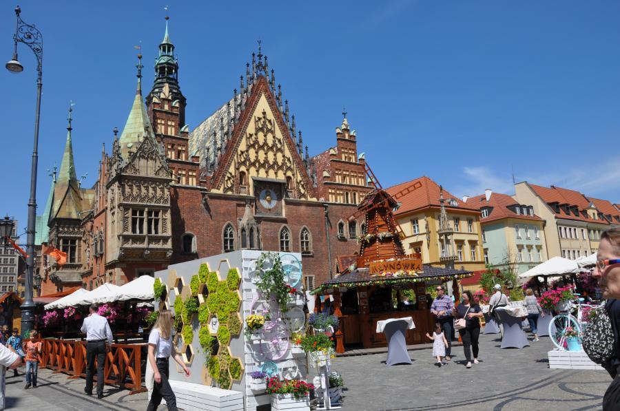 Rathaus in Wrocław