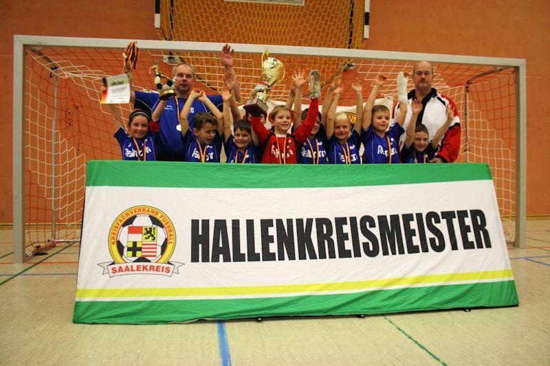 Hallenkreismeister 2014 - F-Junioren