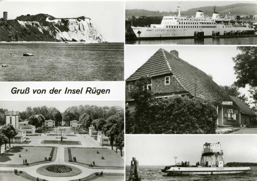 Gruß von der Insel Rügen 1982