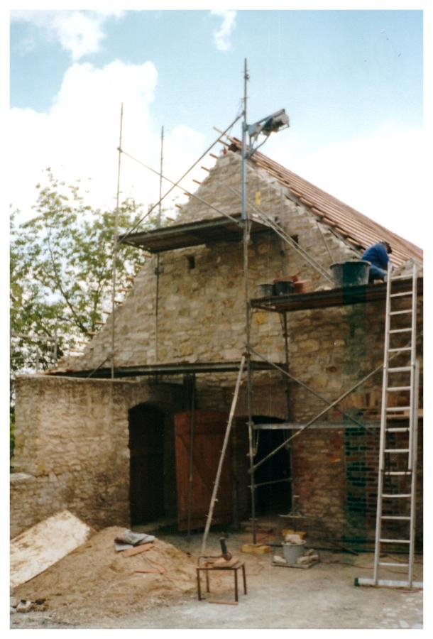 Bau des Vereinshauses