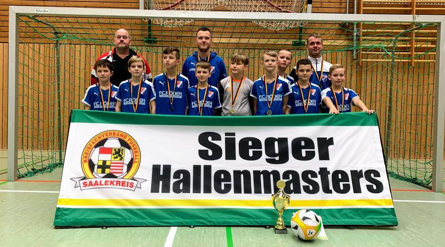 Hallenmaster E-Junioren // VfB IMO Merseburg