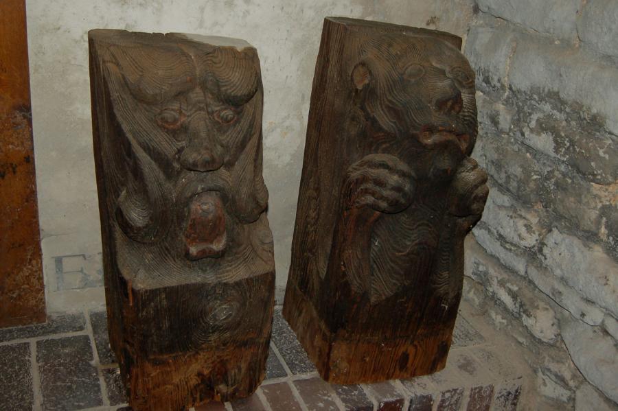 Dämonenvertreiber in der St. Stephanuskirche Ottleben