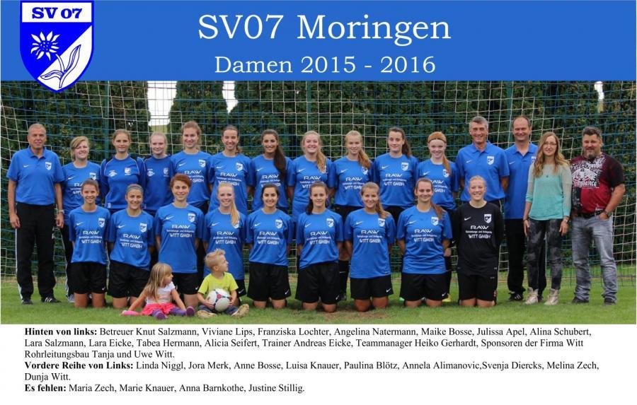 Damen 2015 - 2016