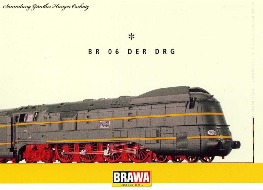 Dampflok BR 06 der DRG