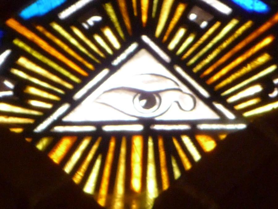 Das Allsehende Auge - 1. Mose 17,1+2