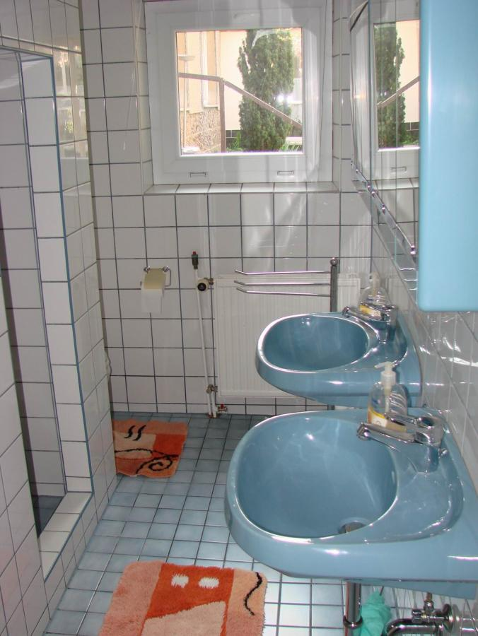Das Bad in der Ferienwohnung