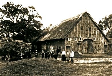 abgebrannt 24.04.1945 : Das Haus auf dem Ziegelhof (u.A.)