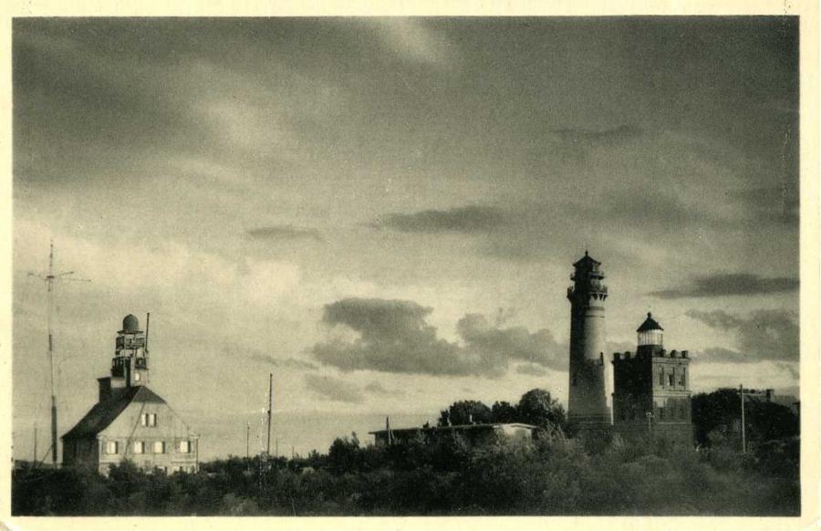 Das schöne Mecklenburg Leuchtturm auf Arcona