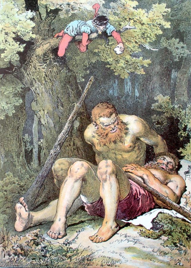 Das tapfere Schneiderlein; Darstellung von Alexander Zick