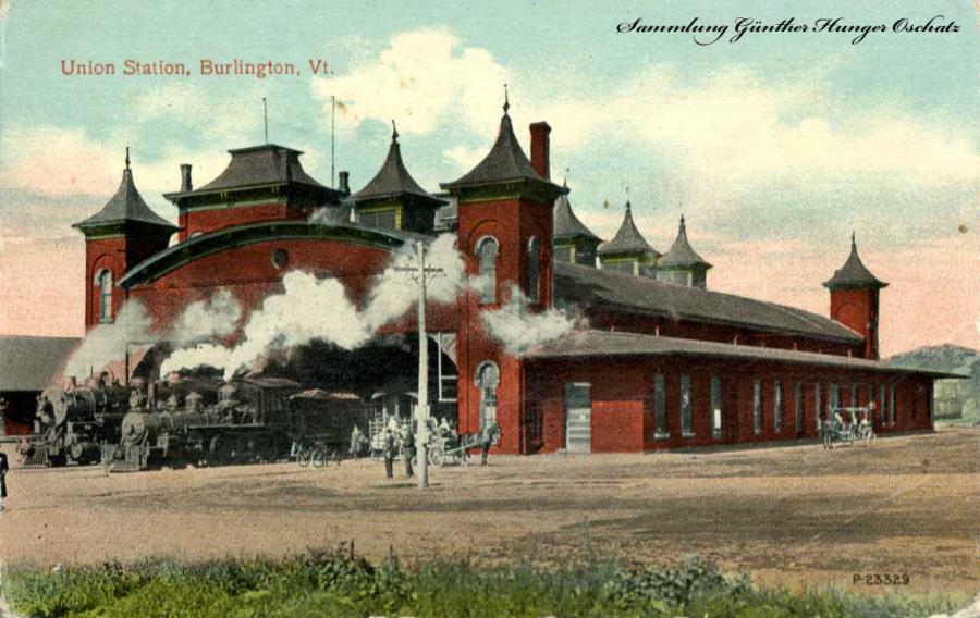 Union Station Burlington Vt.