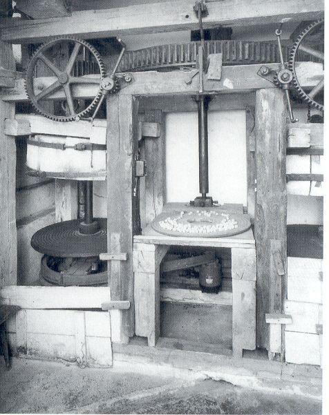 ehemaliger Ausstellungsraum Märbelmühle 1989