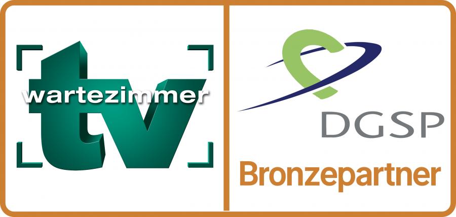 Bronzepartner TV-Wartezimmer