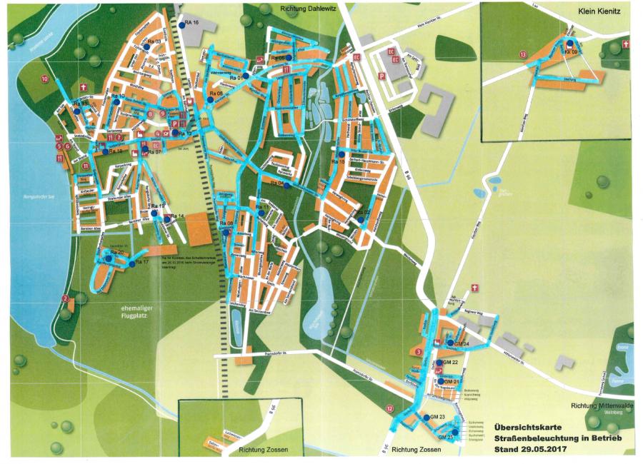 © Gemeinde Rangsdorf - Karte Stand 29.05.2017