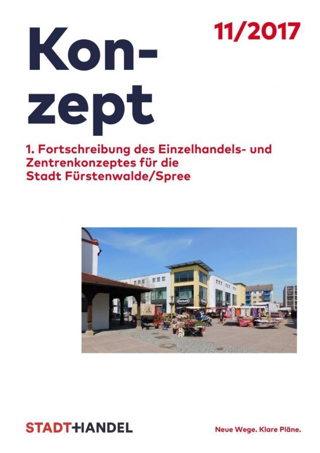 Deckblatt 1. Fortschreibung EH- und Zentrenkonzept