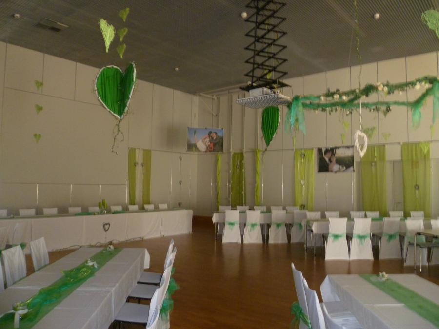 Dekoration Pinsenberghalle Foto 2