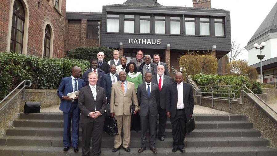 Delegation Angola, Mosambik 2014