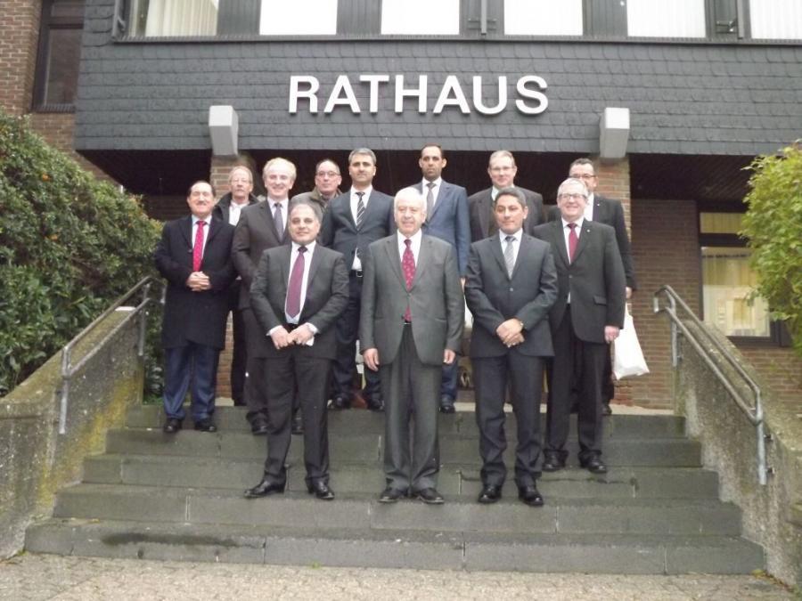 Delegation aus Irak zu Gast im Rathaus Rheinböllen