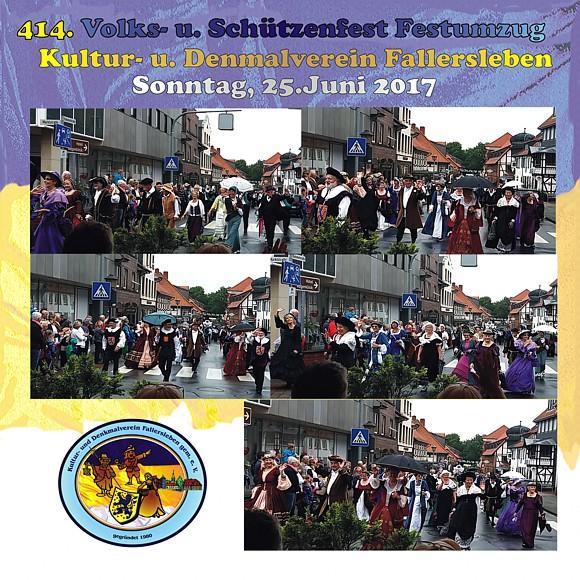 Denkmalverein beim Schützenfestumzug 2017
