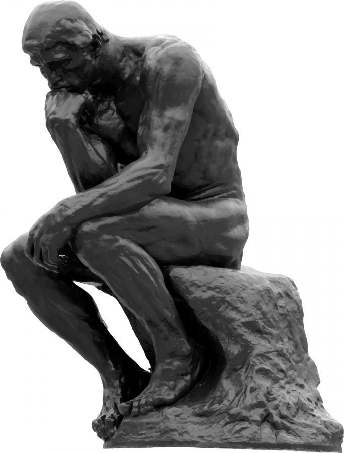 Der Denker von Auguste Rodin