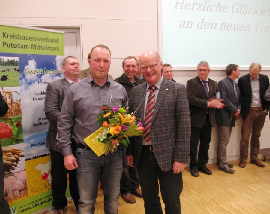 Jens Schreinicke und Wolfgard Preuß