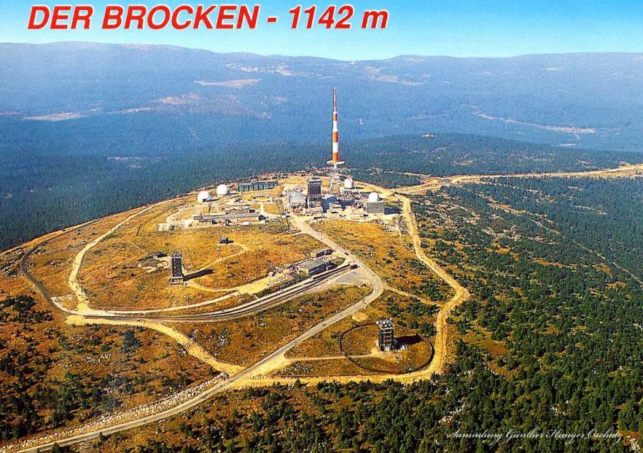 Der Brocken -1142 m