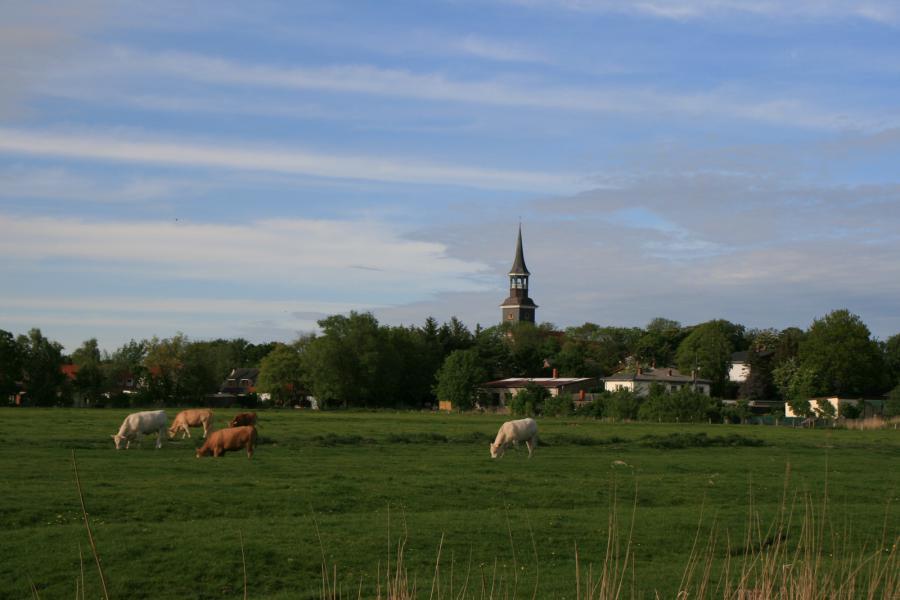 Der Lundener Kirchturm