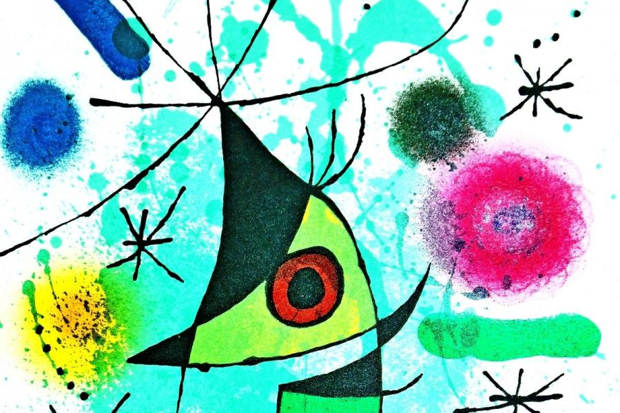 Sonderausstellung Miró- Der Singende
