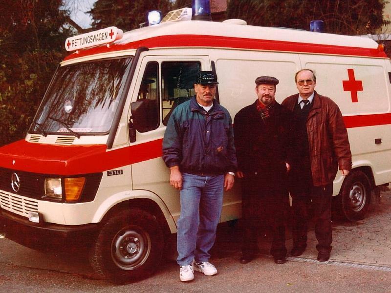 Rettungswagen für Brasilien