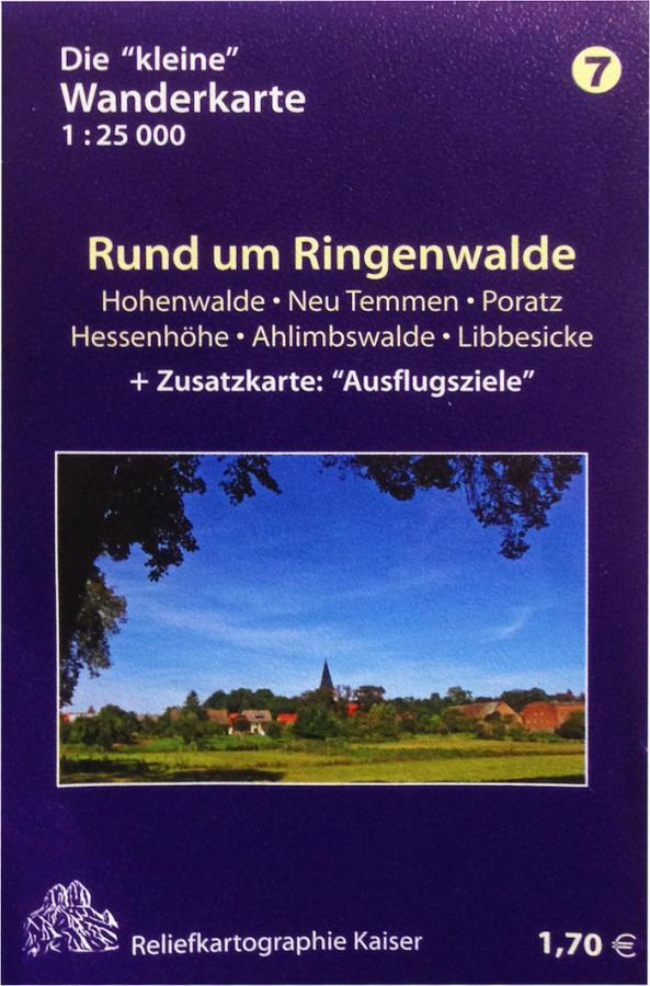 Wanderkarte Ringenwalde