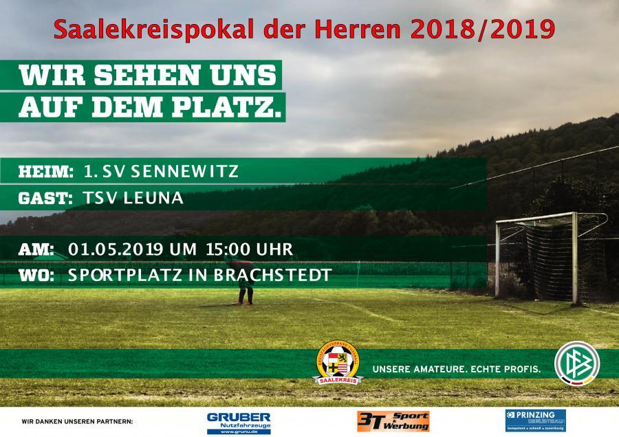 Plakat Kreispokal 2018/2019