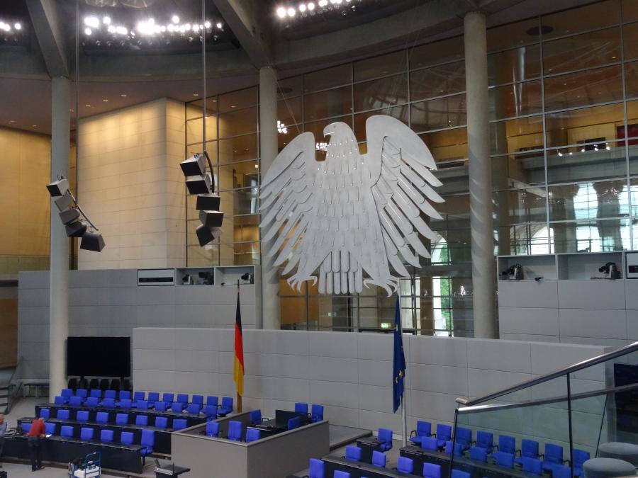 Besuch im Bundestag Klasse 5a