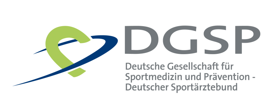 Logo der Deutschen Gesellschaft für Sportmedizin und Prävention e.V.