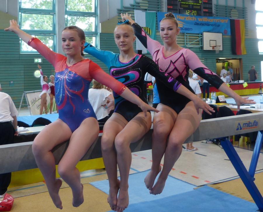 Die 3 Teilnehmerinnen