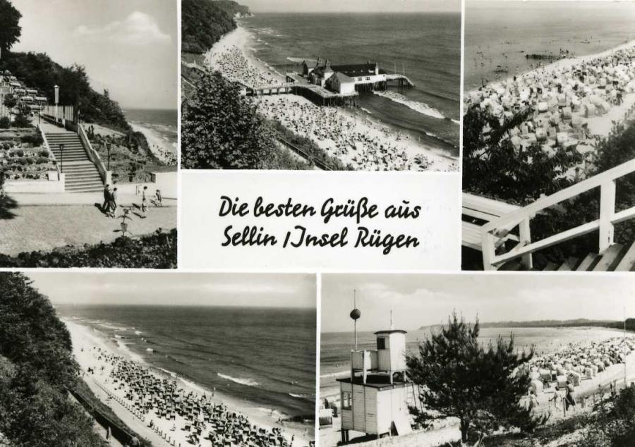 Die besten Grüße aus Sellin -Insel Rügen