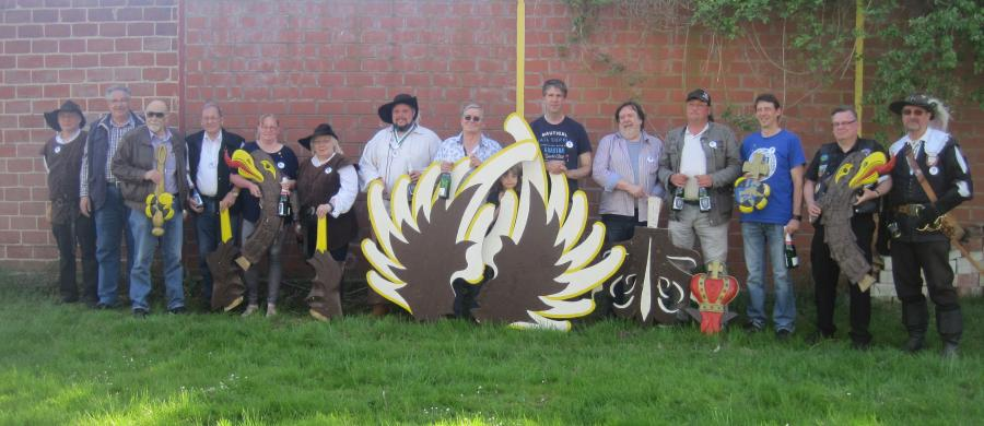 Die Sieger des 11. Wolfenbütteler Vogelschießens