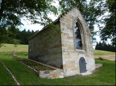 Die Greiner-Gruft - Grabkapelle der Familie Greiner