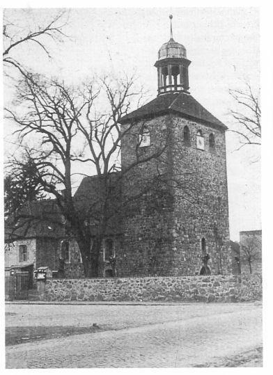 Die Kirche um 1930