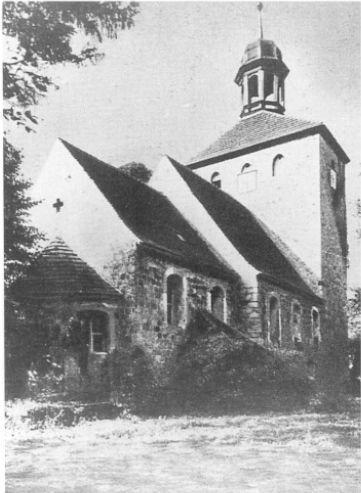 Die Kirche um 1930 2