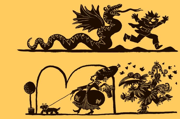 Die Kleine Zauberflöte, Illustration Getrud Zucker