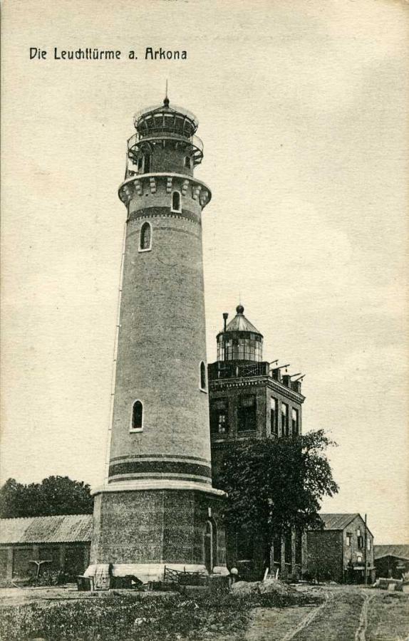 Die Leuchttürme a. Arkona