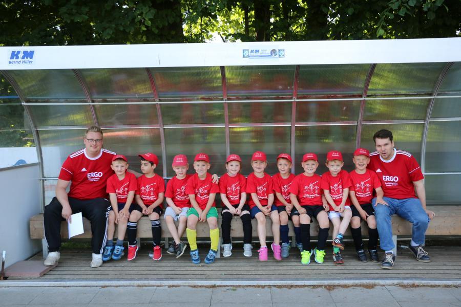 Kindergarten-Cup 2018 - Mini Plato Kicker - Kita Theres-von-Plato