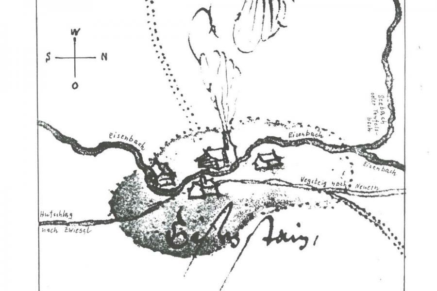 Die Urzelle Eisensteins um 1570