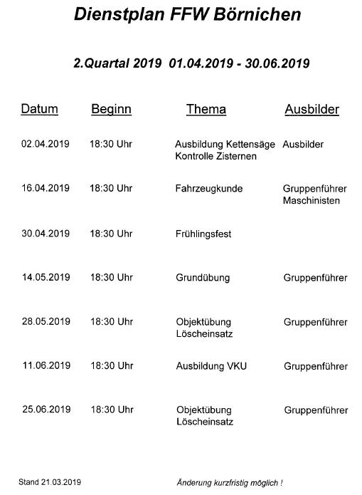 Dienstplan 2019_02