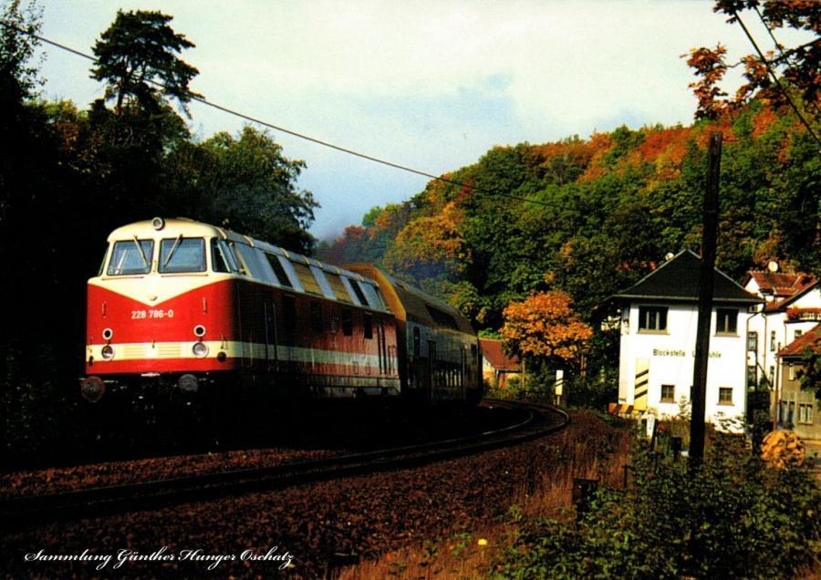 228 786 mit einer Regionalbahn